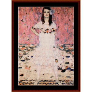 Mada Primavesi - Klimt cross stitch pattern by Cross Stitch Collectibles | Crafting | Cross-Stitch | Wall Hangings