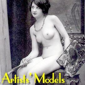 Artists' Models - Vintage French Photo Postcard Album | eBooks | Arts and Crafts