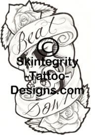 Skull Tattoo Flash | Other Files | Stock Art