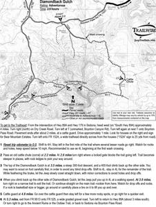 MAP TRAIL SEDONA