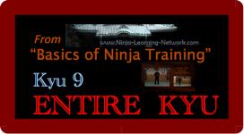 Basics of Ninja Training - Kyu 9 ALL - Large Movie Version - Bujinkan / Ninjutsu | Movies and Videos | Sports