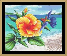 Beauty And The Beach | Crafting | Cross-Stitch | Other