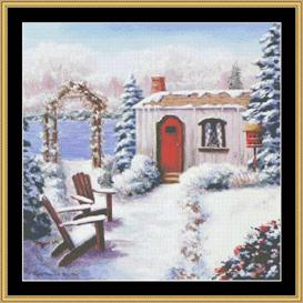 Winter Cottage | Crafting | Cross-Stitch | Other
