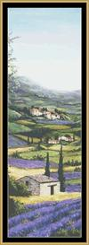 Lavender Field I | Crafting | Cross-Stitch | Other