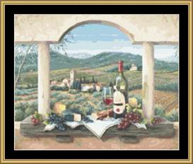 Vin De Provence | Crafting | Cross-Stitch | Other