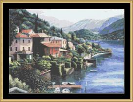 Lago Di Como | Crafting | Cross-Stitch | Other