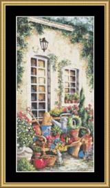 Summer Courtyard Ii | Crafting | Cross-Stitch | Other