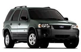 2007 Ford Escape and Escape Hybrid Source Book and Sales Literature | eBooks | Automotive