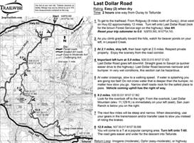 last dollar road colorado jeep trail map bw printable .pdf