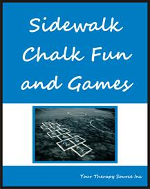 Sidewalk Chalk Fun and Games | eBooks | Education