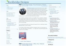 Wordpress Baby Blue Template