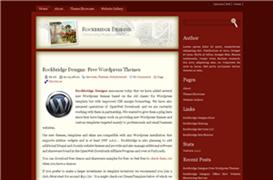 Old World WordPress Theme