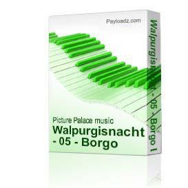 Walpurgisnacht - 05 - Borgo Borgo | Music | Alternative