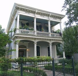 new orleans garden district ipod mp3 audio walking tour