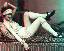 stereoscope burlesque 3d vintage stereoviews