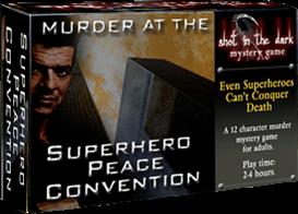 Murder at the Superhero Peace Convention | eBooks | Games