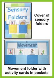 Sensory Integration Folders | eBooks | Education