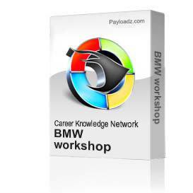 BMW workshop | Movies and Videos | Educational