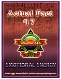 Actual Fact 17 Emotional Energy | eBooks | Religion and Spirituality