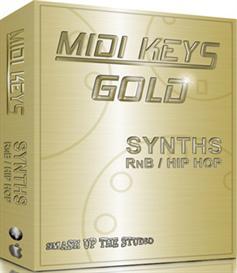 MIDI Keys Gold - Synths RnB and Hip Hop | Music | Soundbanks