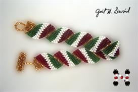 Wavy Flag Bracelet-Italy | eBooks | Arts and Crafts