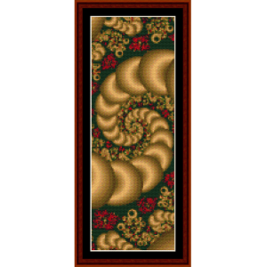 Fractal 101 Bookmark cross stitch pattern by Cross Stitch Collectibles | Crafting | Cross-Stitch | Other