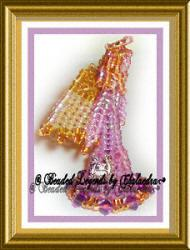 amethyst birthstone angel
