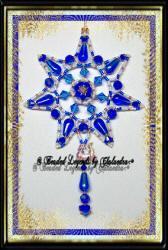 Cobalt Starburst Ornament | eBooks | Arts and Crafts