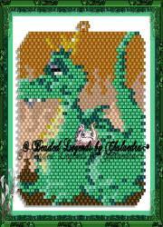 Dragon Ornament or Pendant | eBooks | Arts and Crafts