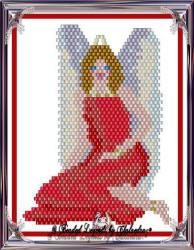 Sitting Pretty Angel Ornament or Pendant | eBooks | Arts and Crafts
