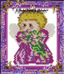 Joyful Flower Angel Ornament or Pendant | eBooks | Arts and Crafts