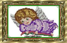 Yule Banner Angel Ornament or Pendant | eBooks | Arts and Crafts