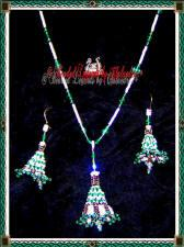 Lacy Bell Necklace and Earrings Set | eBooks | Arts and Crafts