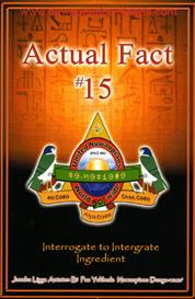 actual fact #15 interrogate to intergrate ingredient