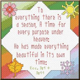 Everything A Season | Crafting | Cross-Stitch | Religious
