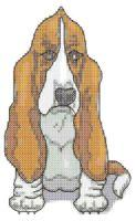 Bassett Hound Cross Stitch Pattern | eBooks | Arts and Crafts