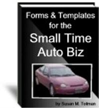 auto biz forms & templates