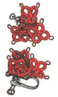 Tatted Earrings Pattern | eBooks | Arts and Crafts