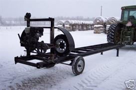 Plans to build your own Band Sawmill | eBooks | Outdoors and Nature
