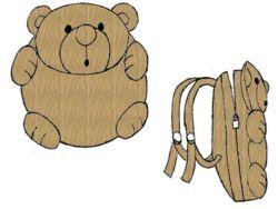 Teddy Bear Backpack Pattern | eBooks | Arts and Crafts