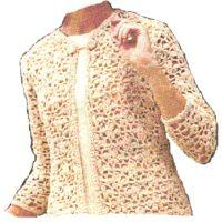 spring jacket crochet pattern