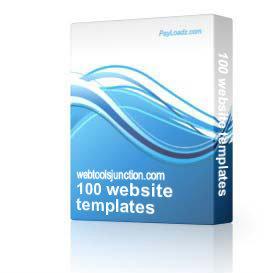 100 website templates | Software | Design Templates