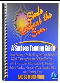 sizzle without the sun tanning guide