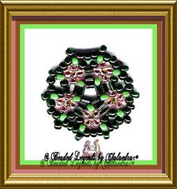 Flower Wheel Ornament or Earrings | eBooks | Arts and Crafts