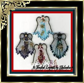 Four Holiday Angel Set | eBooks | Arts and Crafts