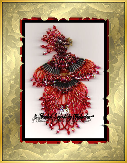 Firebird phoenix ornament ebooks arts and crafts for Craft stores in phoenix