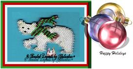 Penelope Polar Bear Ornament | eBooks | Arts and Crafts