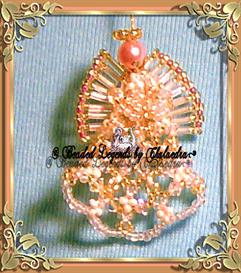 Beaded Doily Angel Ornament | eBooks | Arts and Crafts