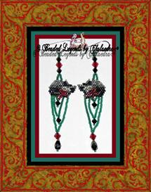Ribbons and Bows Earrings or Ornament | eBooks | Arts and Crafts