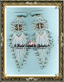 Crystal Palace Snow Earrings | eBooks | Arts and Crafts